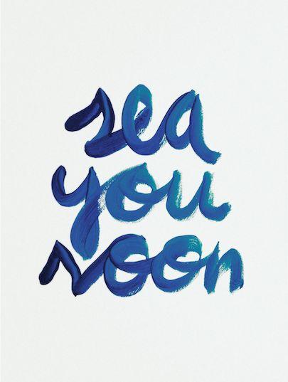 sea you