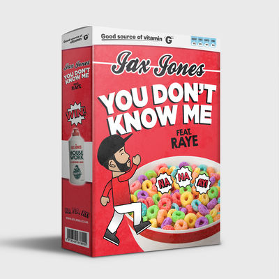 """You Don't Know Me (feat. Raye)"" Jax Jones"