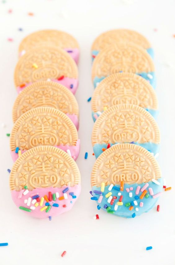 birthday oreos