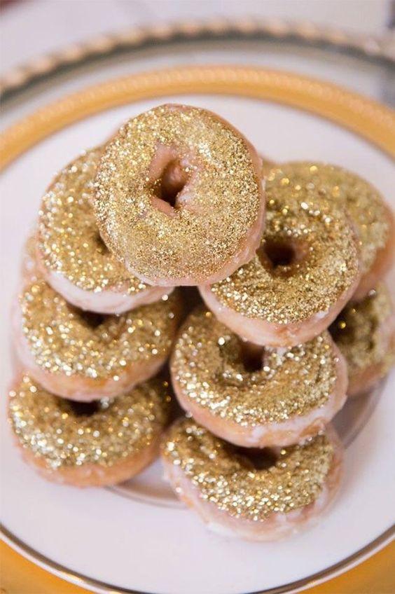 glitter donut