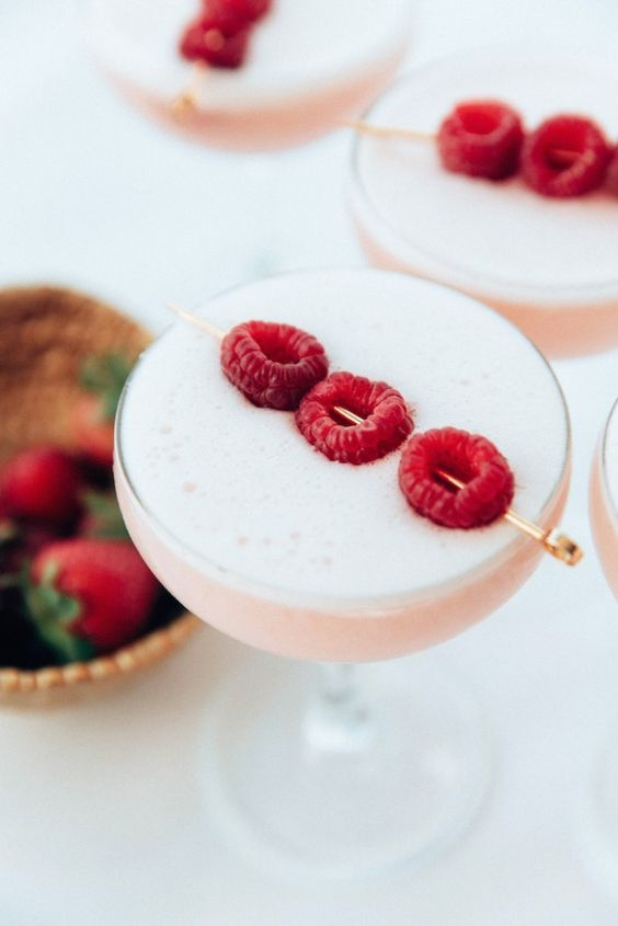 raspberry cocktails