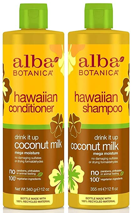 alba shampoo & conditioner