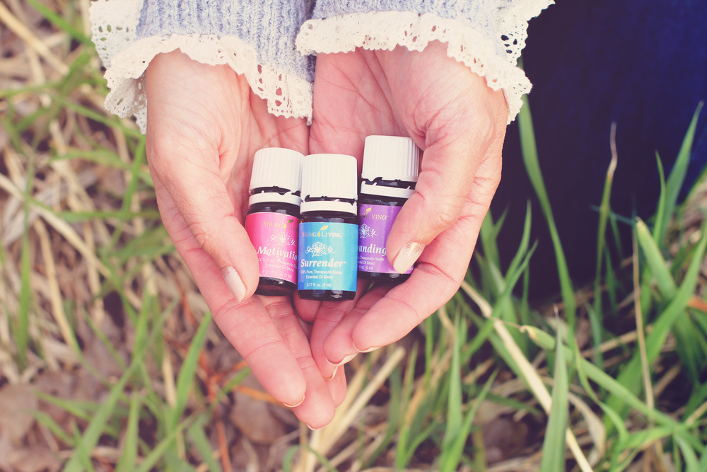 Essential oils can help you access your self with ease and relaxation.