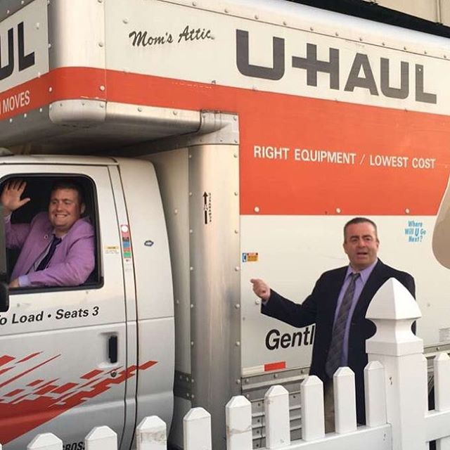 U-Haul is packed and ready to go! See everyone at the #purpletiestakes tomorrow at 1! Tickets are still available on the foundation website! #mulhallfoundation