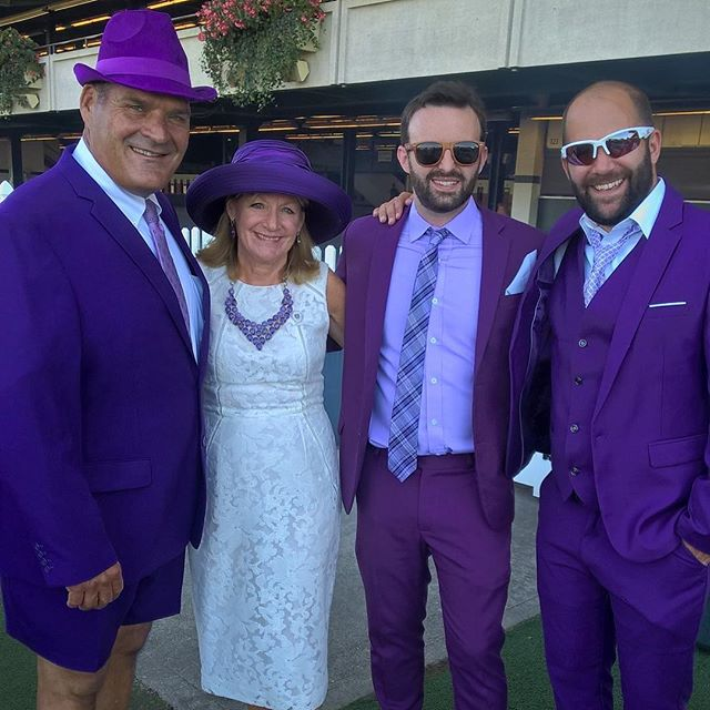Big thanks to the over 360 people who came out to the #purpletiestakes yesterday!!! Congratulations to Danny Mullane for winning best dressed!!!