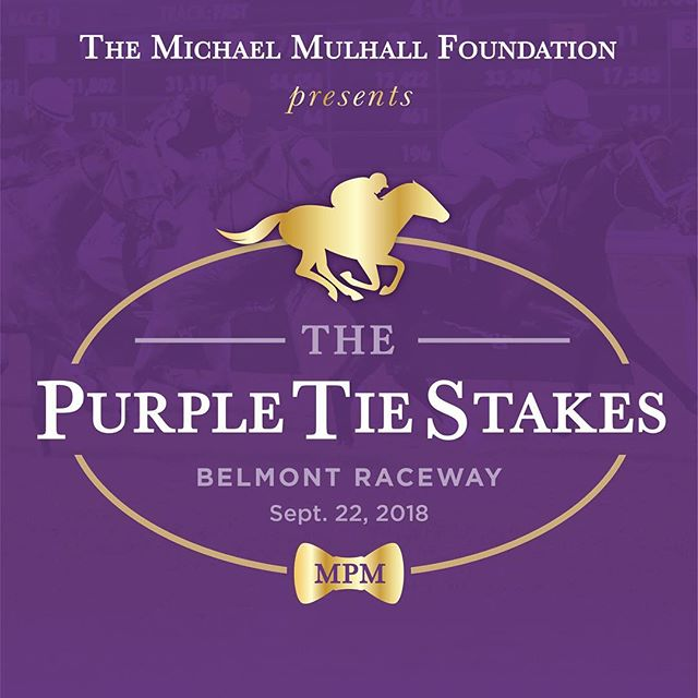 Save the date! We are 2 months out from the #purpletiestakes  Tickets are available on the foundation website. (Link in bio)