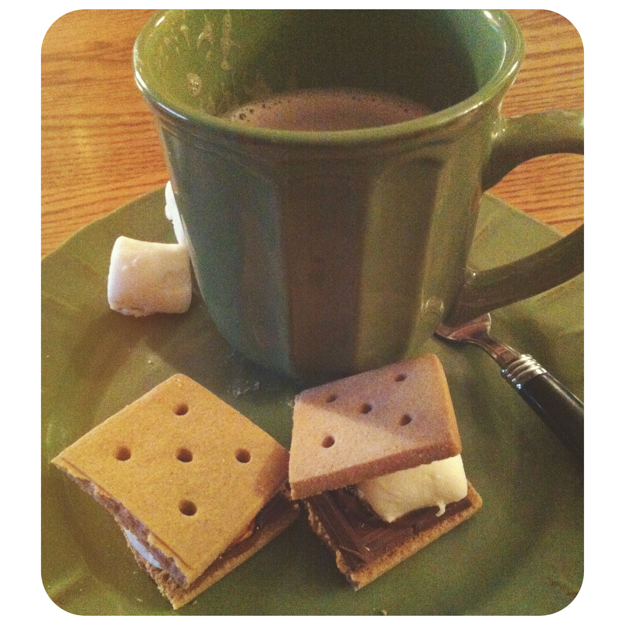 Gluten free smores & hot chocolate! (and vegan marshmallows)