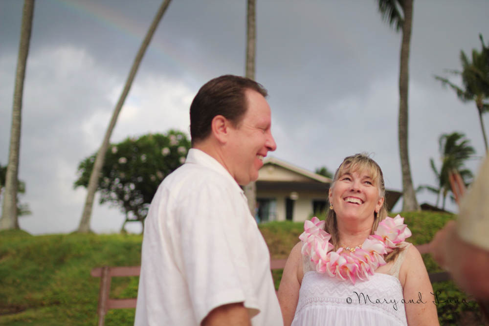 we were able to help my dad surprise my mom with a vow renewal!