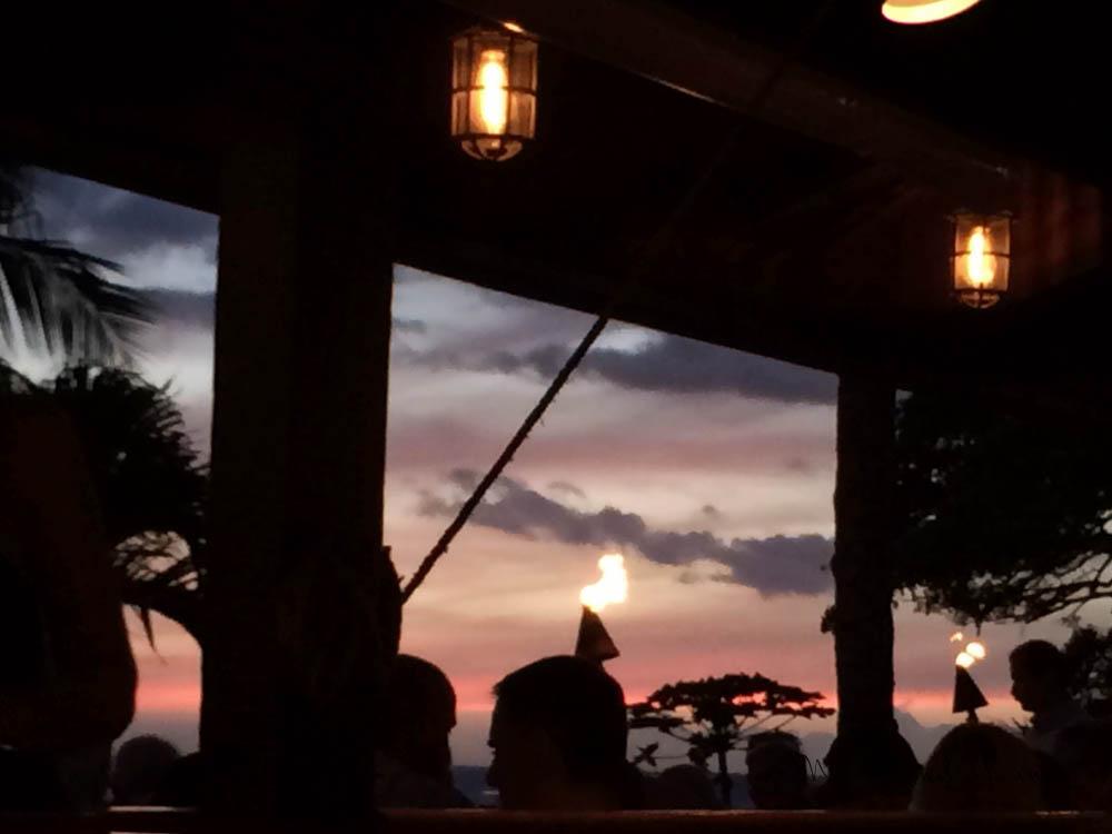 Lahaina sunset.