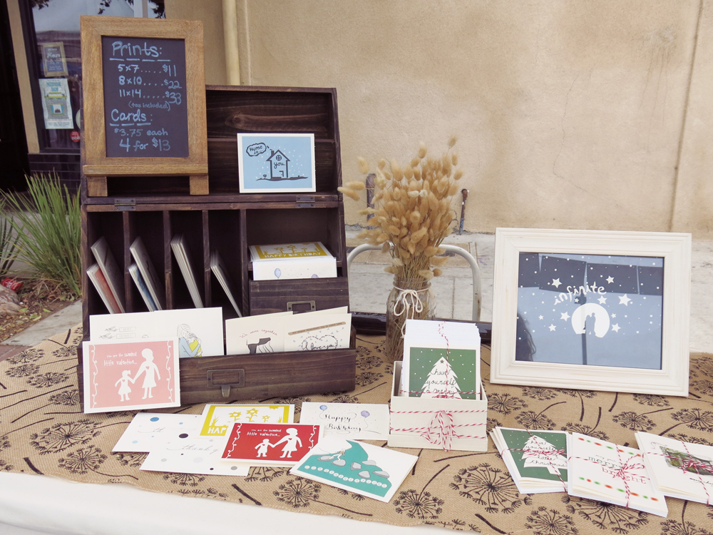 my table at Patchwork show