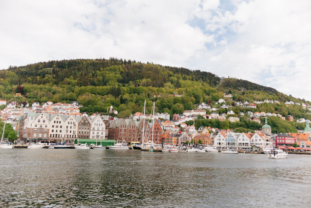 Bryggen, the oldest part of Bergen.