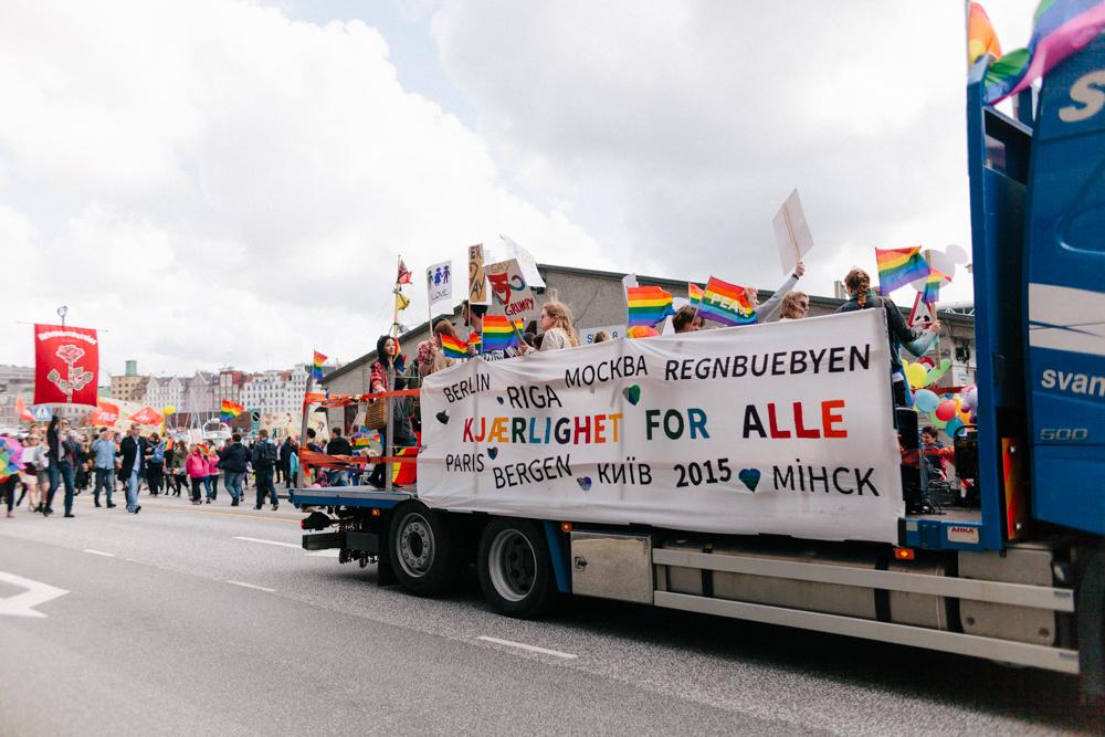 a pride parade!