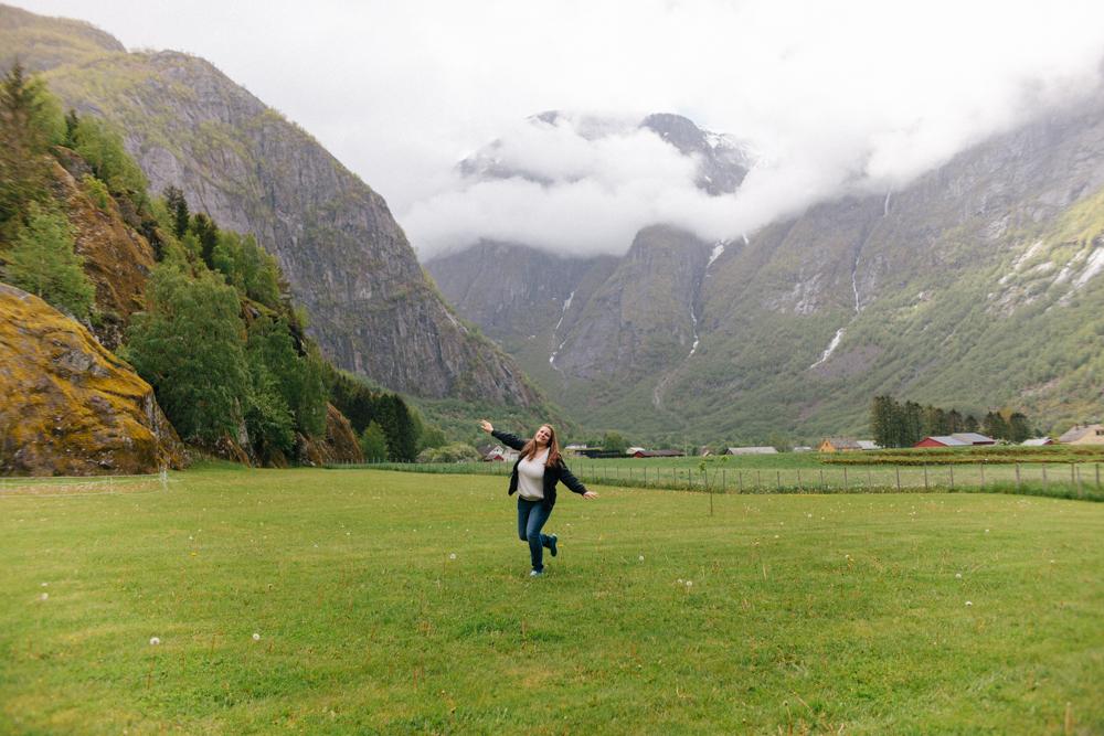 frolicking in Eidfjord