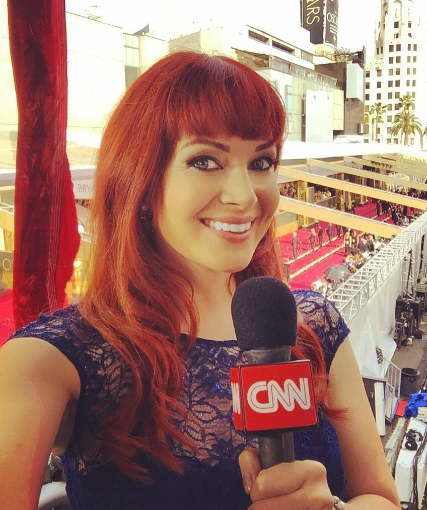 APPEARING AS A FILM EXPERT ON CNN, LIVE FROM THE ACADEMY AWARDS RED CARPET