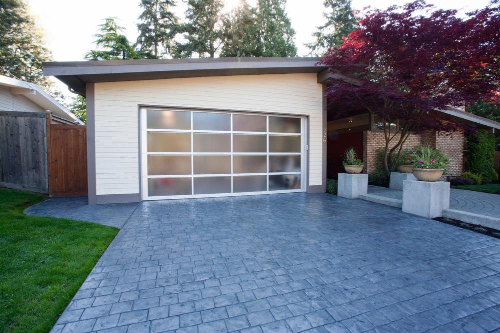 A Mid Century Modern home in Bellevue, WA.