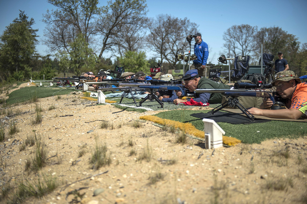 US Rifle Team trials.