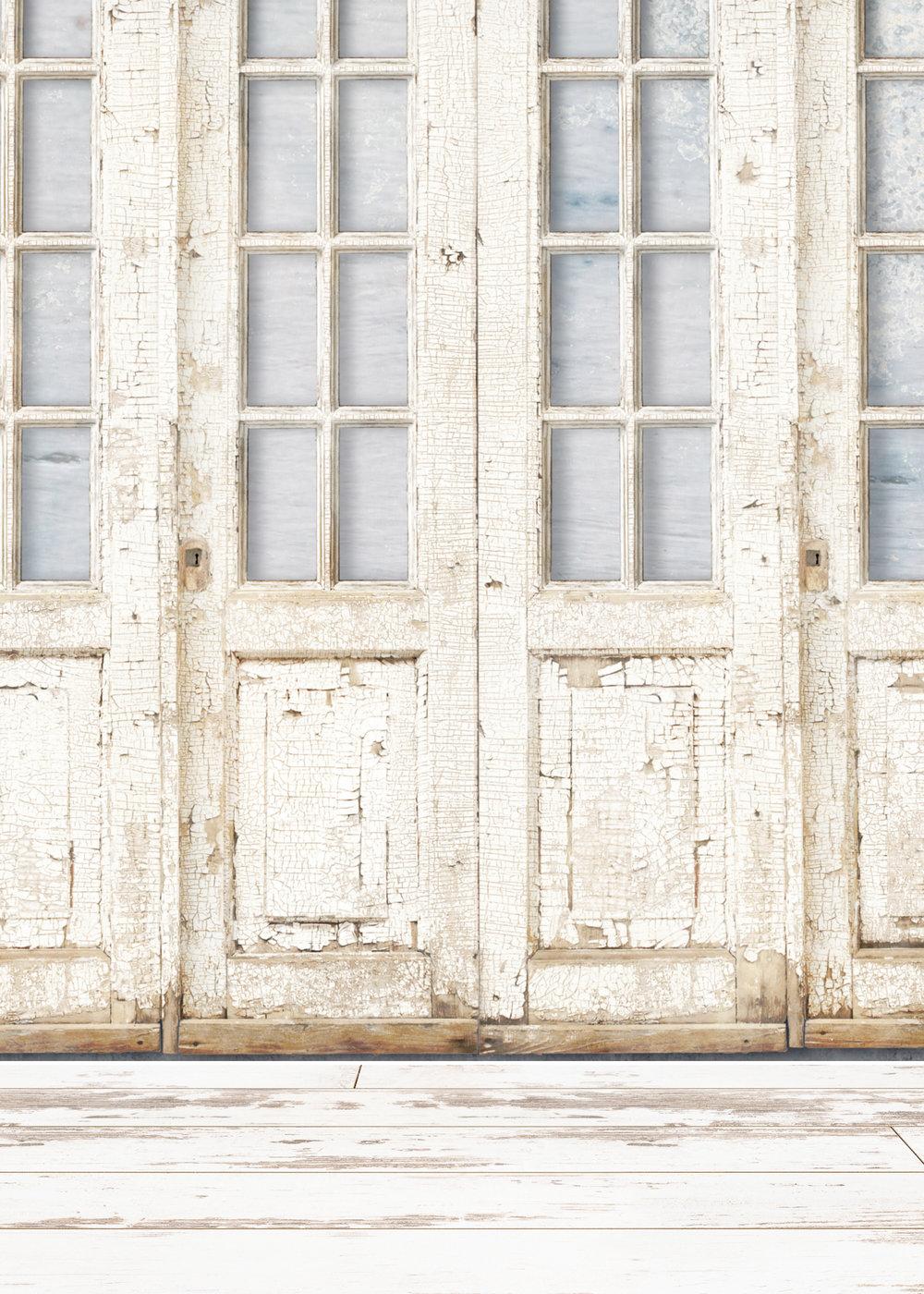 Background B - Antique Doors