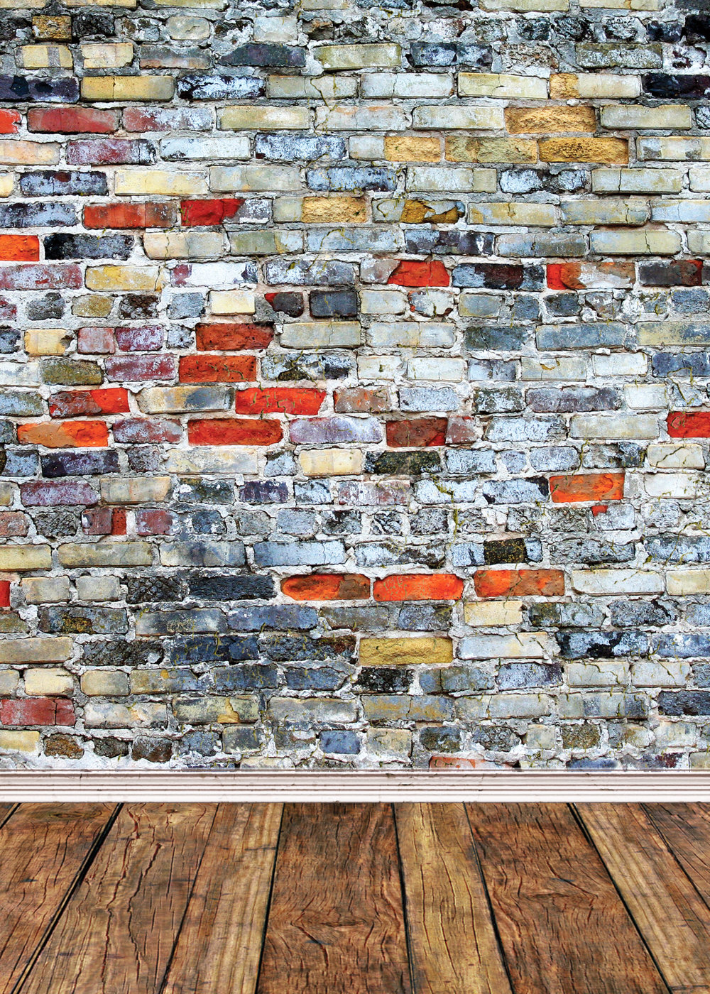Background D - Colorful Brick