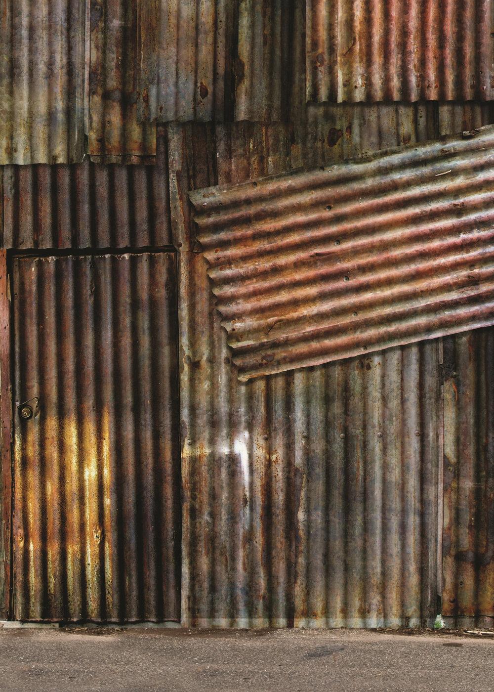 Background K - Metal Wall