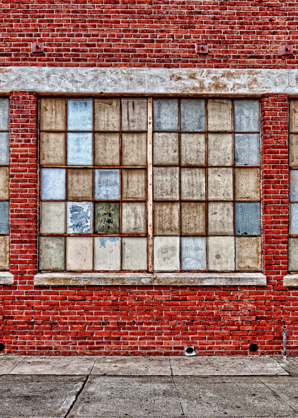 Background F - Grunge Brick Wall