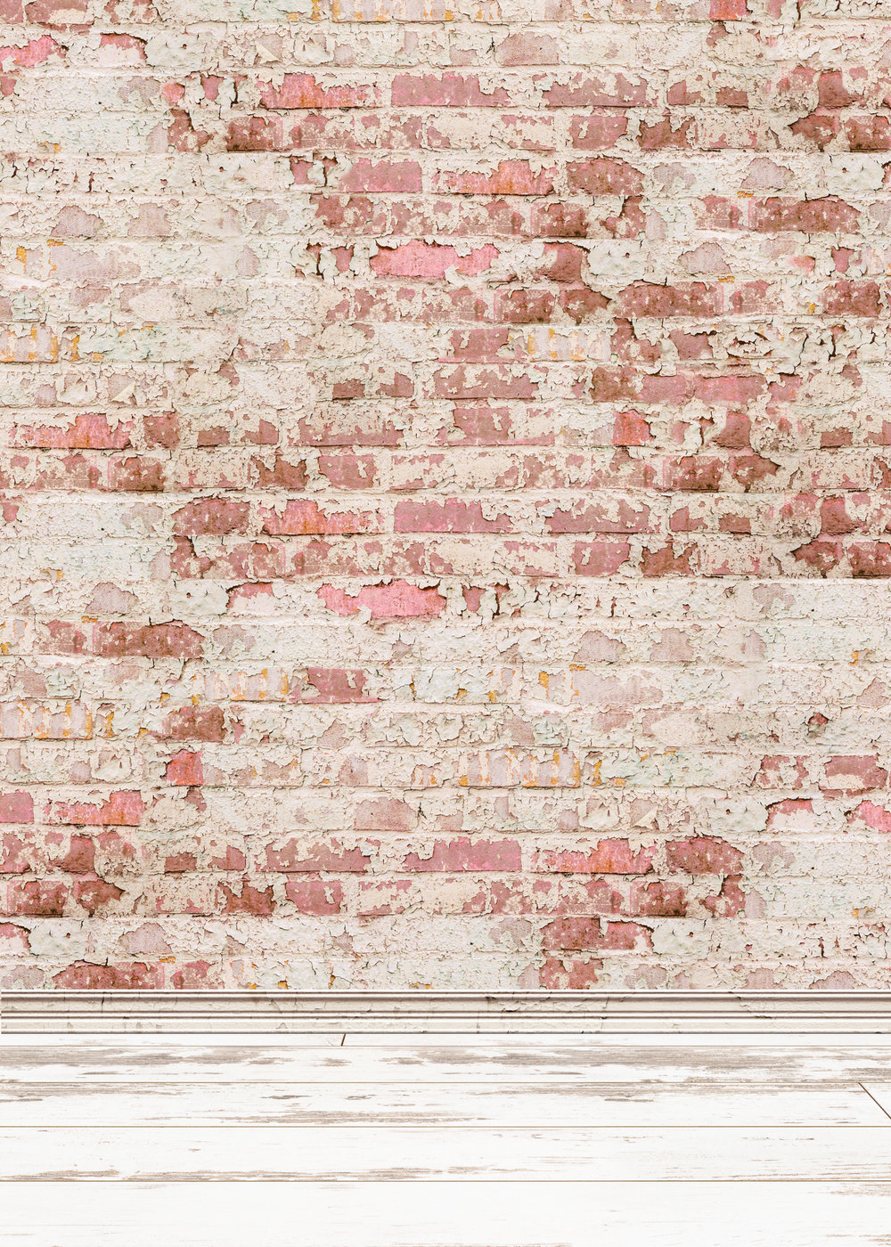 Background K - Pink Brick Wall