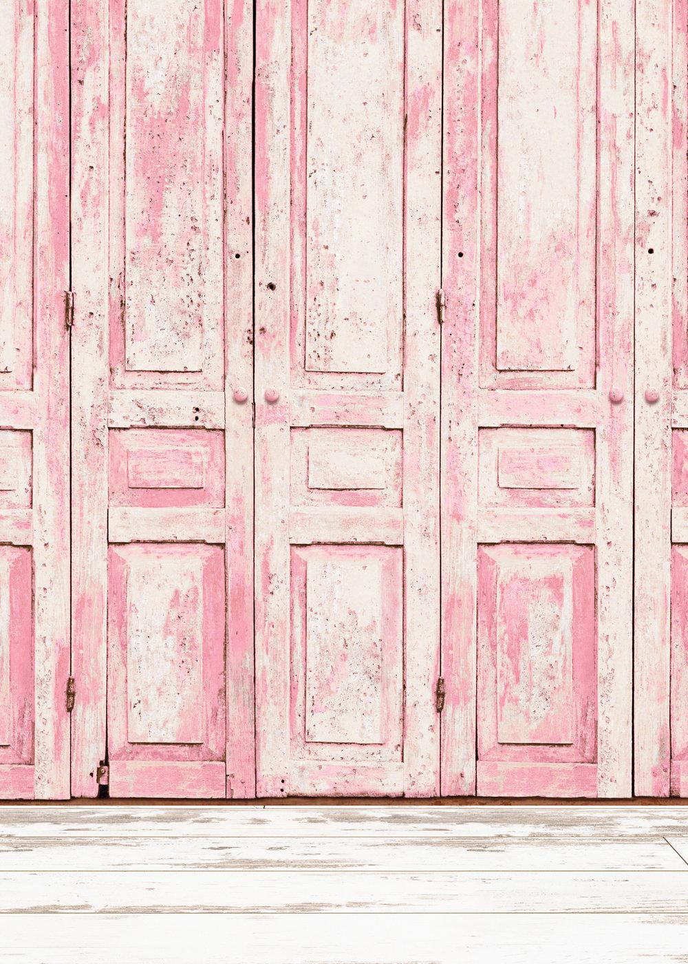 Background R - Pink Doors