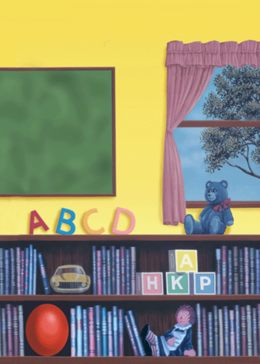 Kindergrad Background A - Library