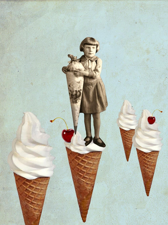 Colagem de Julia Gleiser