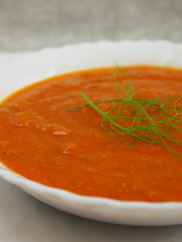 tomato fennel soup