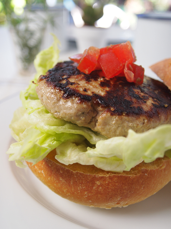 Paula Deen tuna burger