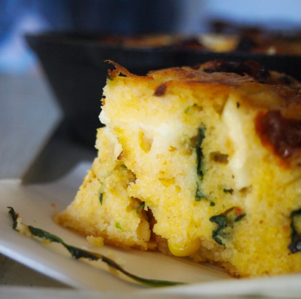 savoury cornbread surprise recipe