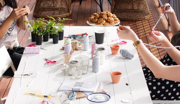the spring shop crafternoon