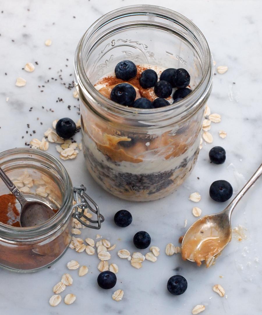 Overnight Oatmeal Recipe  Basic Ingredients