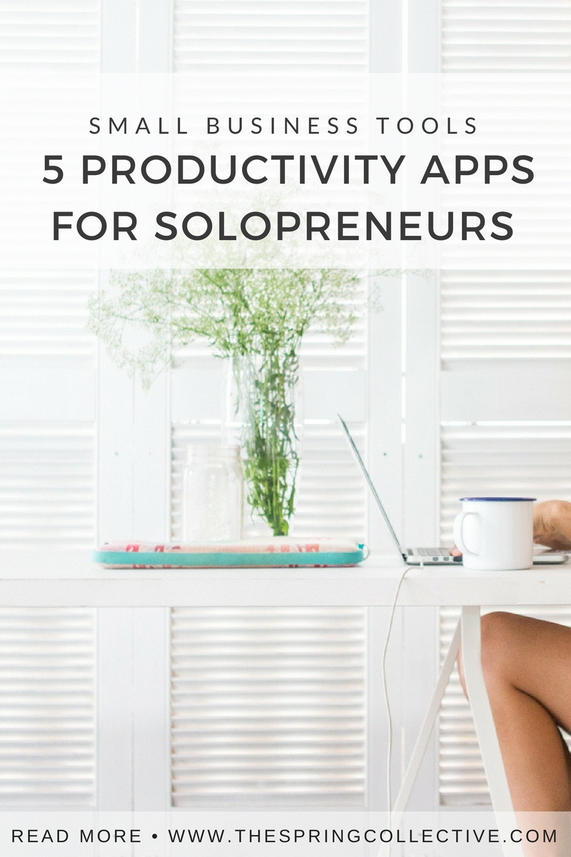 Here's a quick list of apps that've been making my working life as a solopreneur more focused and productive.