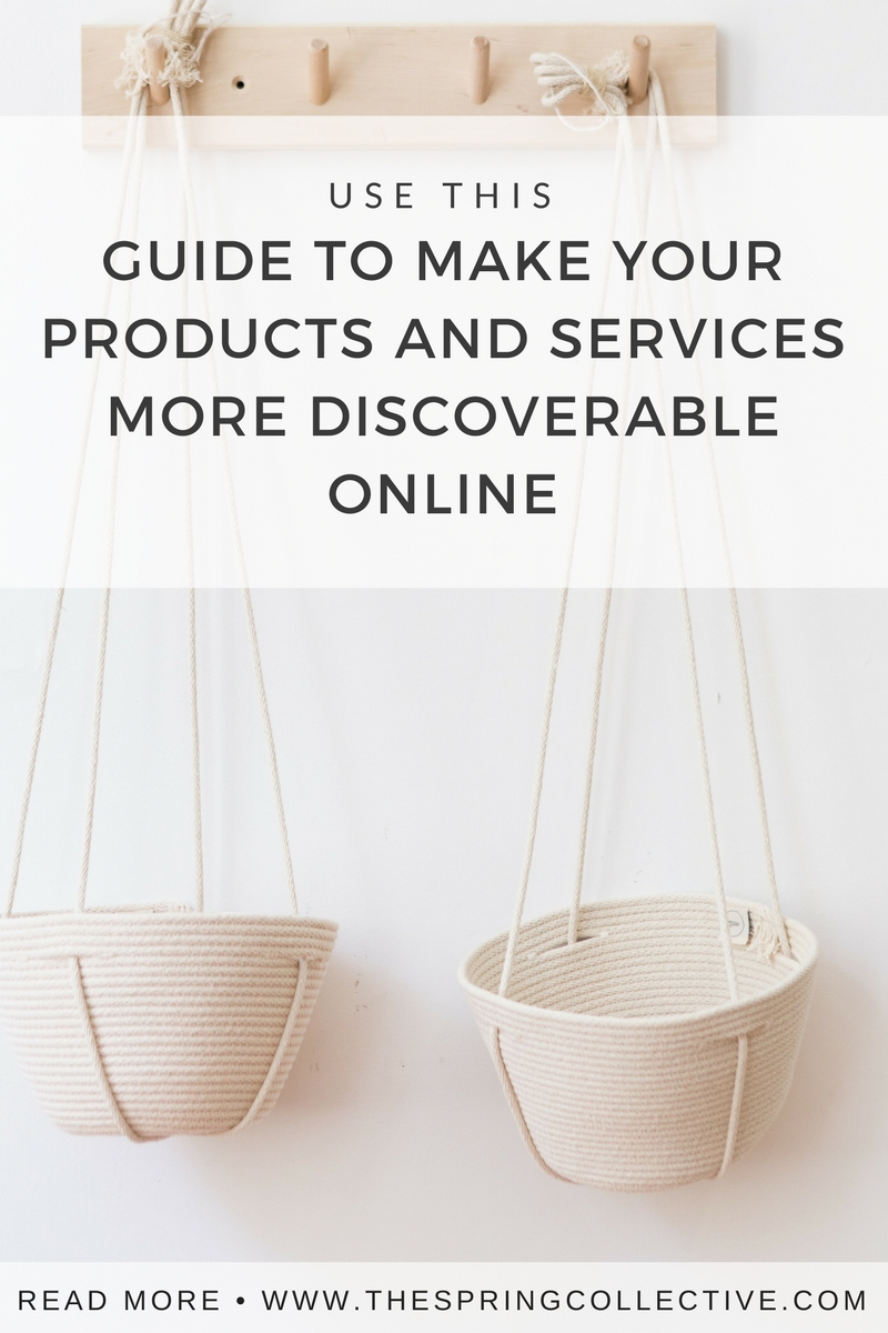 Tips from an experienced e-retailer to make your products and services more discoverable online. (In other words, SEO strategies for online sellers who don't care to know what SEO is.)