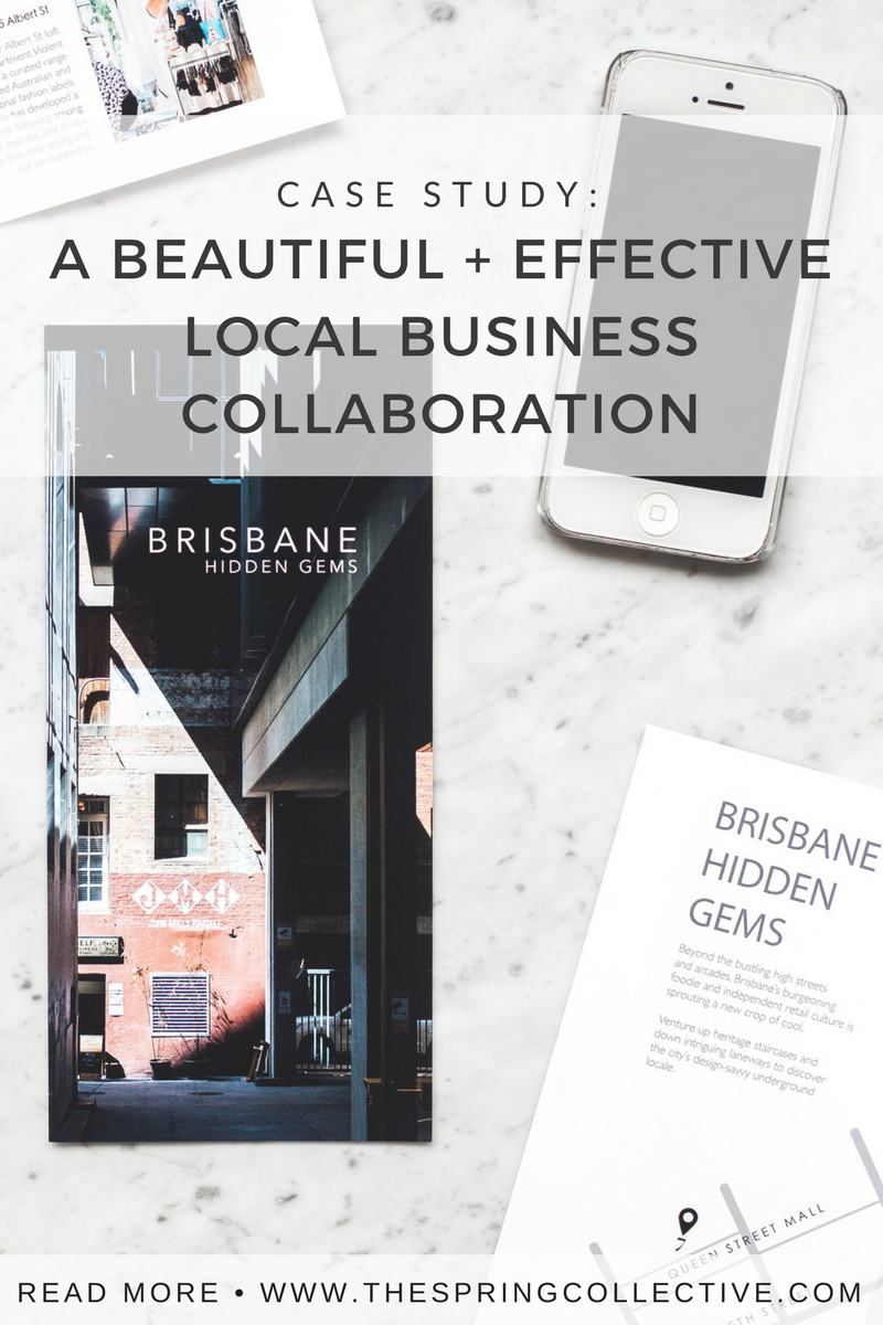 Case Study For Local Small Business: A beautiful and effective business marketing collaboration | creative marketing | business collaboration | brochure template | free marketing for small business