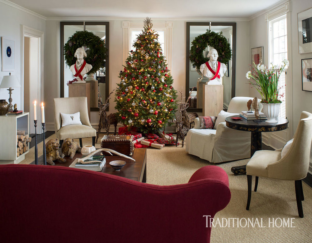Cozy Christmas In An Historic Connecticut Home The Foo