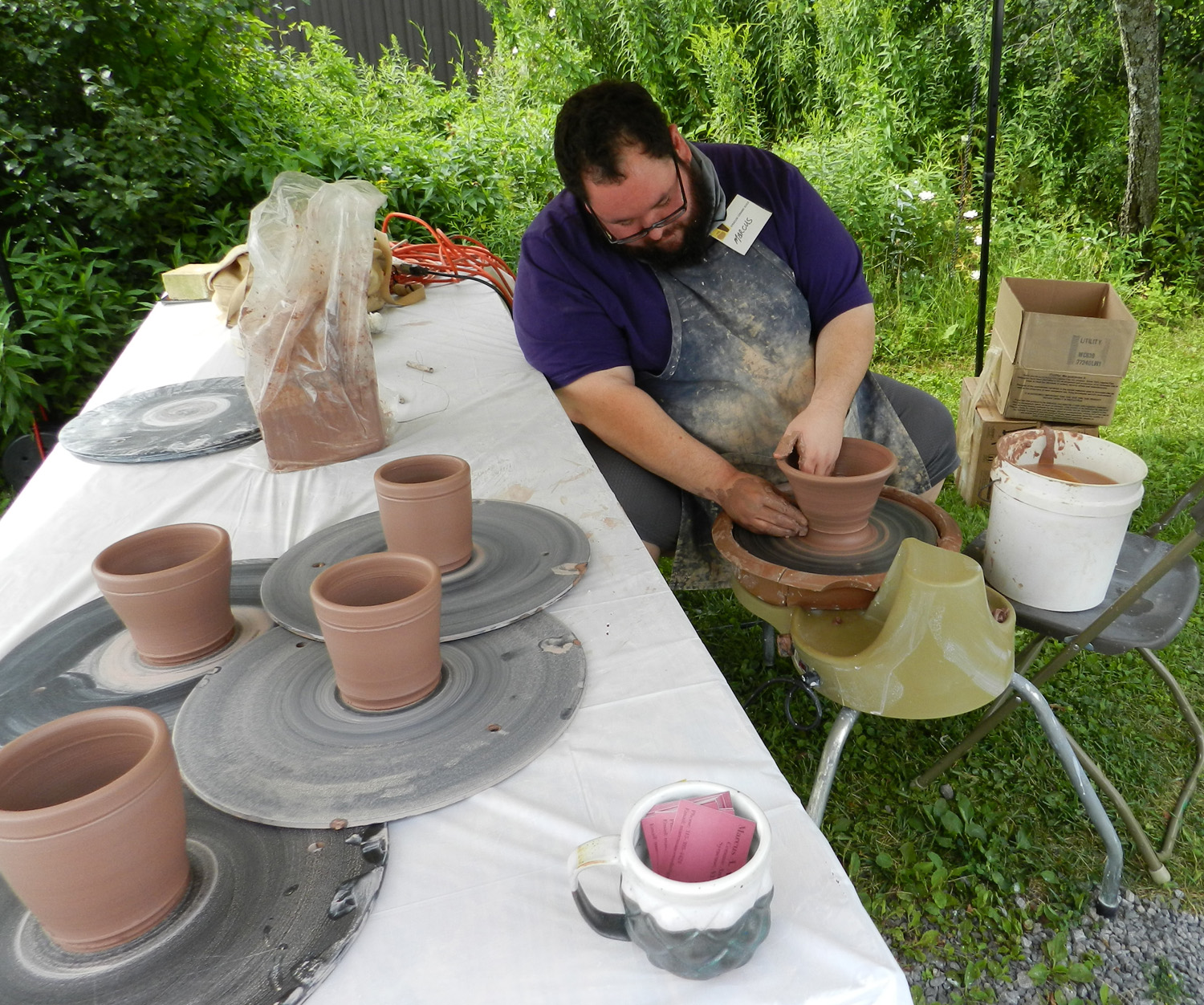 Live Pottery Demonstration