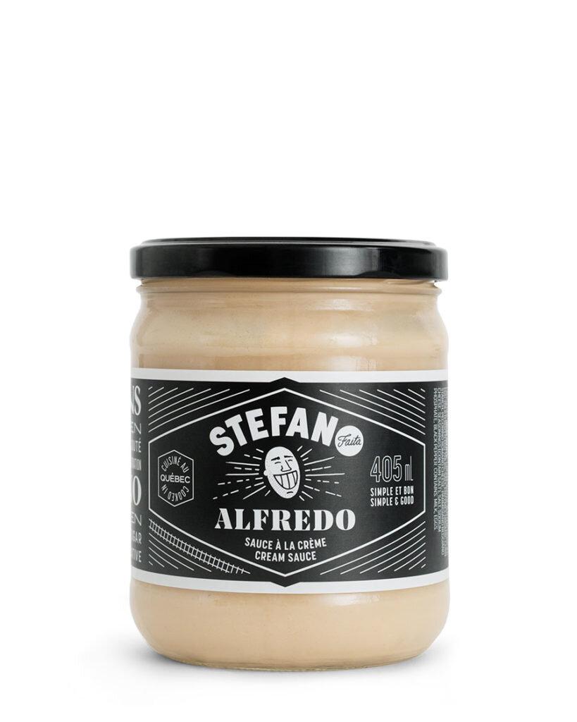 Stefano Alfredo Sauce 430ml Salt Gourmet Foods Inc