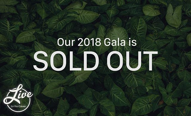 Our 2018 Gala is officially sold out! Thanks to all those who bought tickets, we're looking forward to seeing you tomorrow. There is still time to donate to the Douglas Mental Health University Institute's Mindfulness & Emotion Regulation Workshop on secretgarden.live!