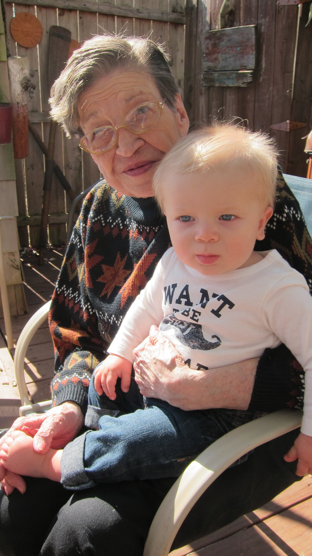 Nanny with Boden in 2014