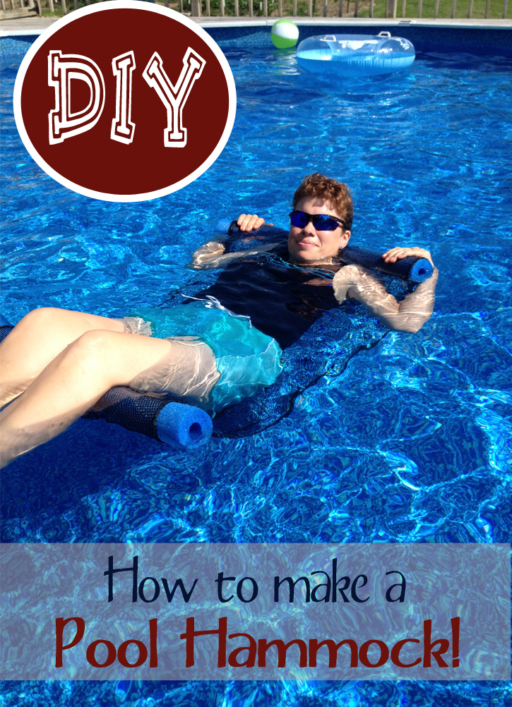 DIY Pool Hammock
