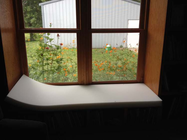 DIY Custom Cushion Cover for Window Seat — Day to Day Adventures