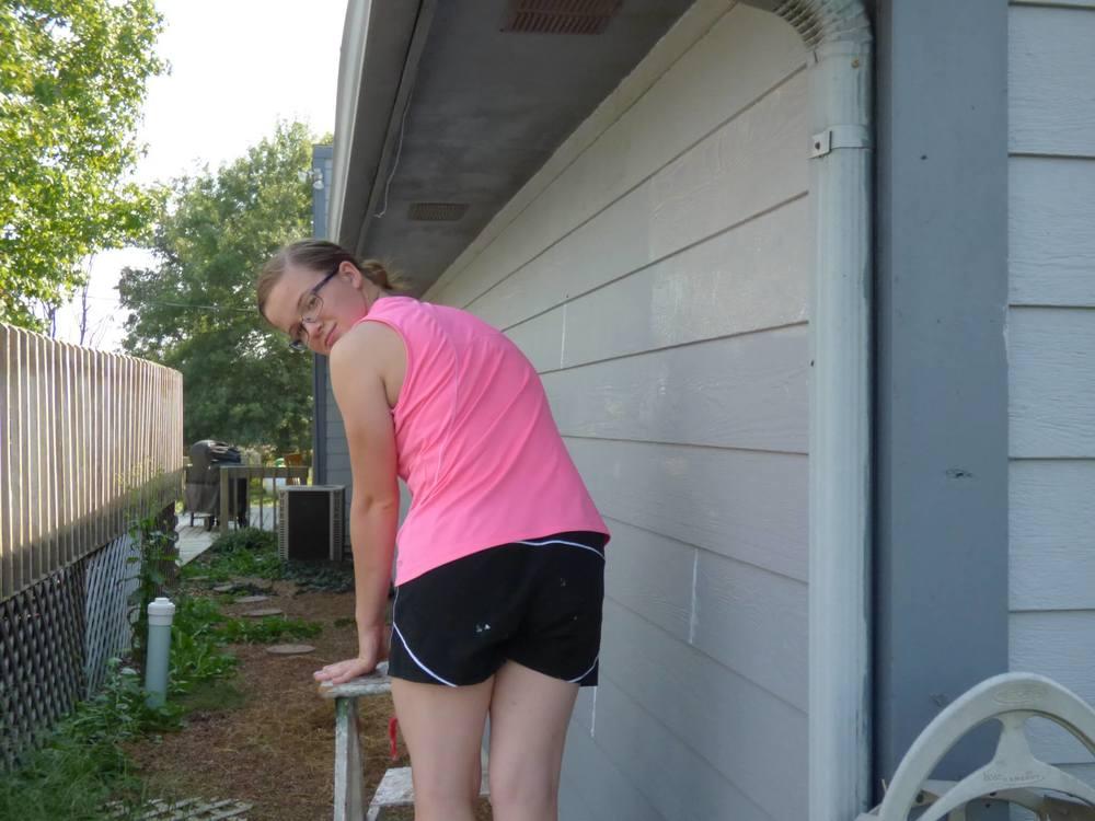 Painting Exterior House - DaytoDayAdventures.com