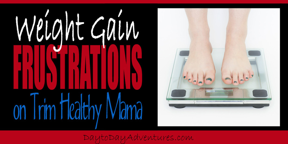 Weight Gain Fustrations - DaytoDayAdventures.com