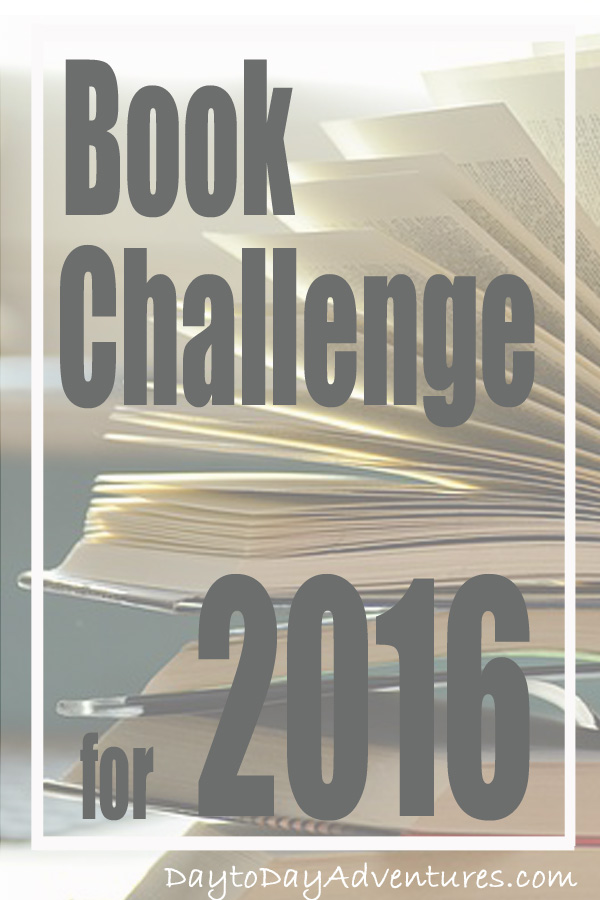 I really struggle with nonfiction books and there are many I want to read!  2016 is the year of the book challenge for me & non fiction!  Check out what I'm reading & my progress - DaytoDayAdventures.com