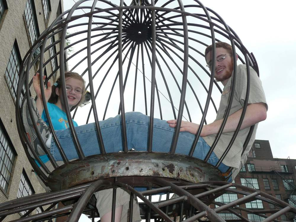 Fun family trip to St. Louis City Museum - DaytoDayAdventures.com