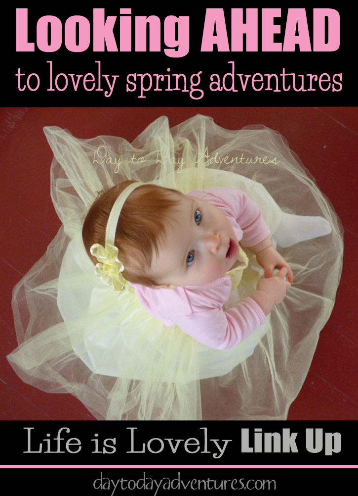 Our family is looking ahead to some lovely spring adventures.  Life is Lovely - DaytoDayAdventures.com