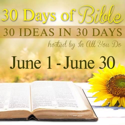 30 days of Bible - DaytoDayAdventures.com