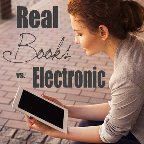 Real Books vs Electronic - DaytoDayAdventures.com